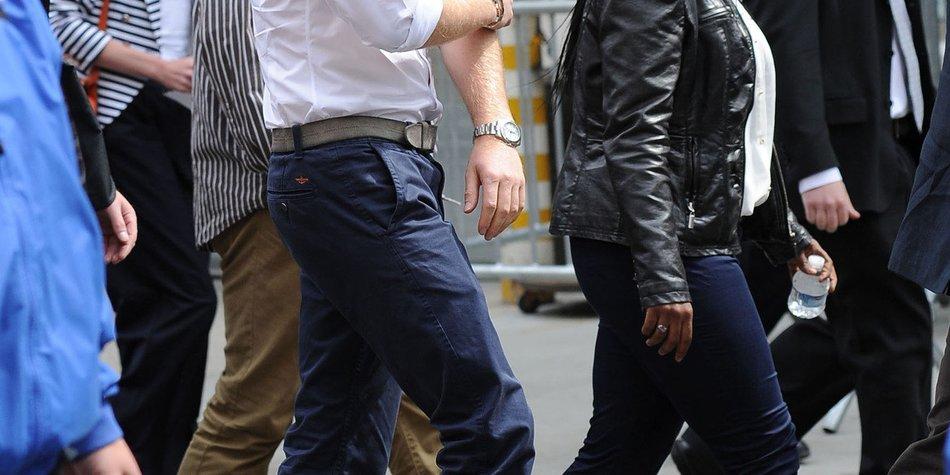 Prinz Harry weist Rolling Stones-Rocker in die Schranken