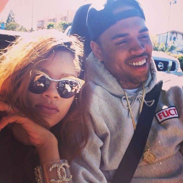 Rihanna und Chris Brown sind nicht getrennt