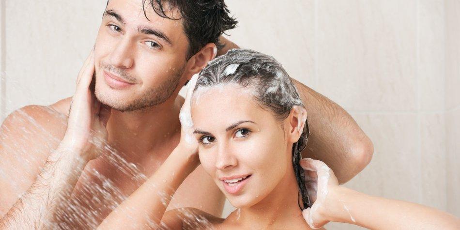 Zusammen duschen