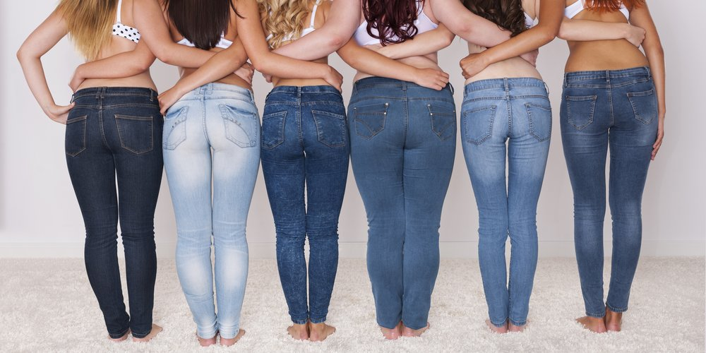 Our buttocks are amazing in those jeans