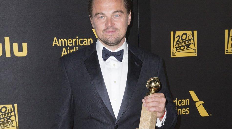Leonardo DiCaprio gewann einen Golden Globe