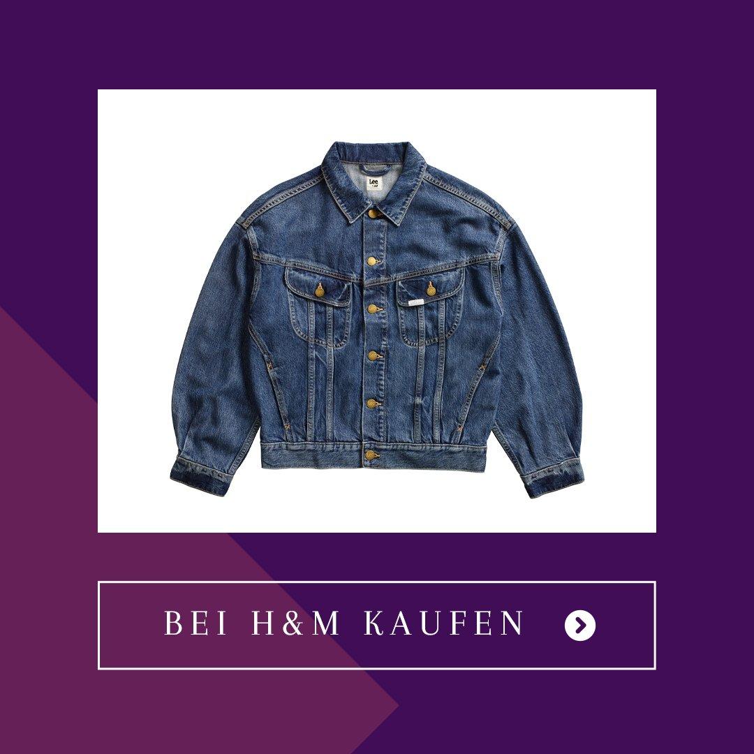 H&M x Lee Jeansjacke