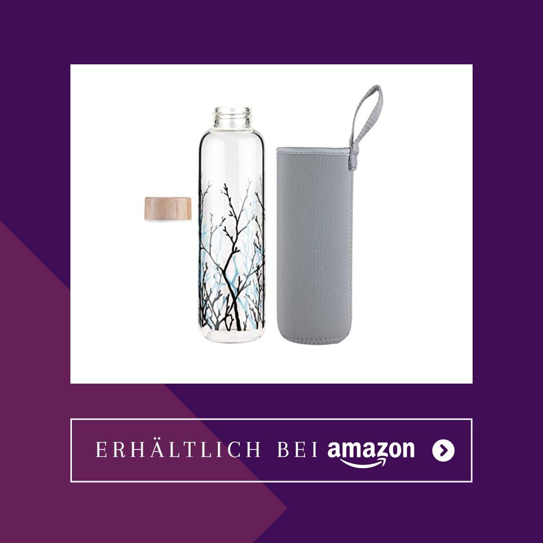 Zero Waste-Glasflasche