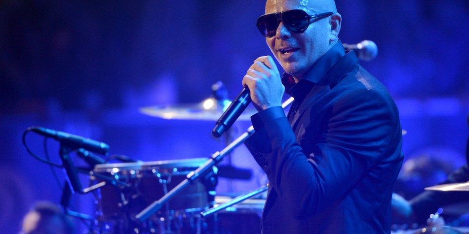 Pitbull ist ein schmutziger Gentleman