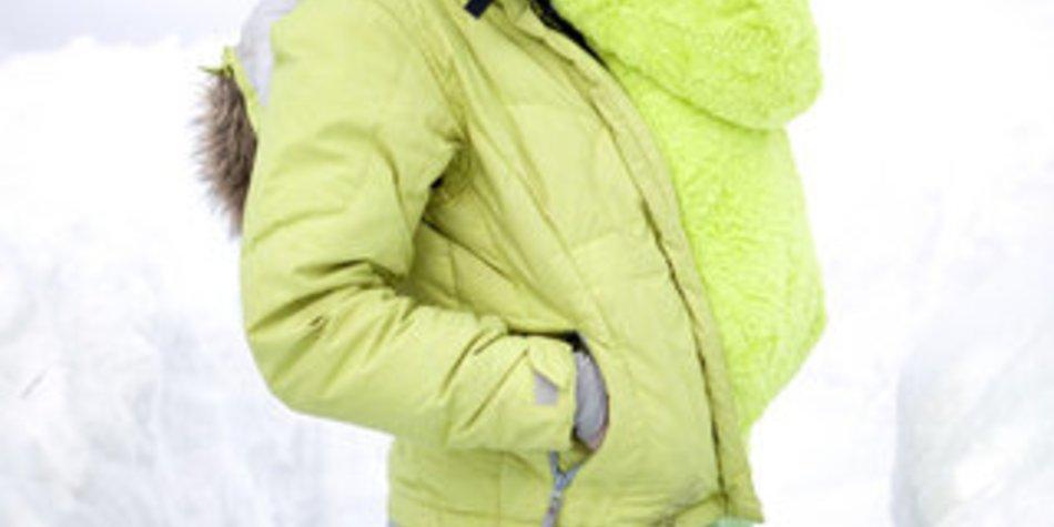 Baby vor Kälte schützen