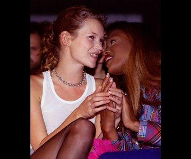 Kate Moss und Naomi Campbell