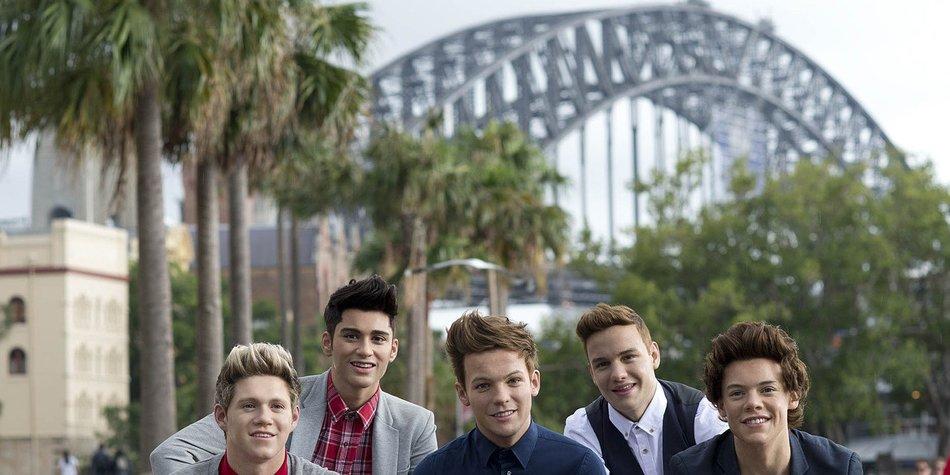 One Direction unterstützen verletzten Fan