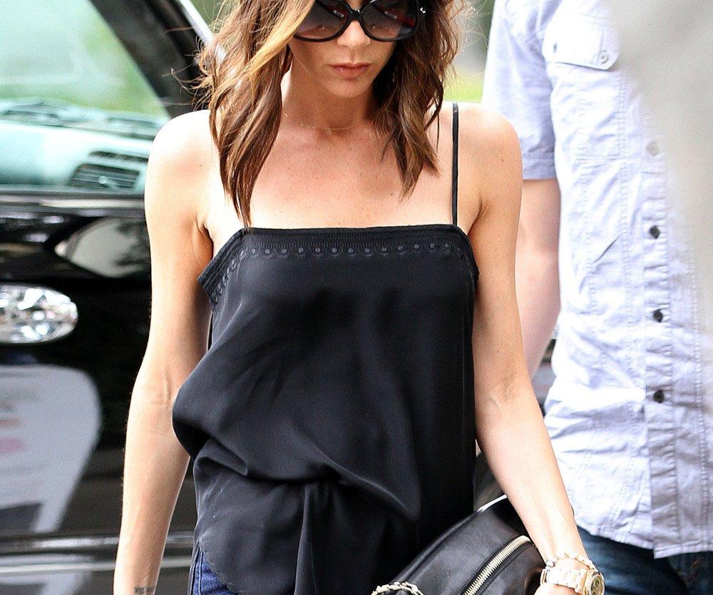 Victoria Beckham mit neuer Frisur