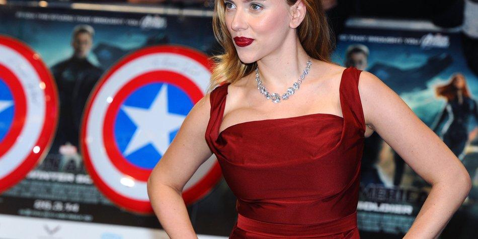 Scarlett Johansson empfindet sich nicht als Sexsymbol