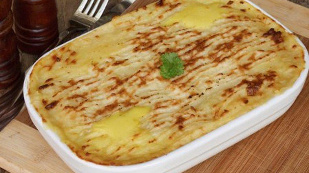 Lachs Lasagne