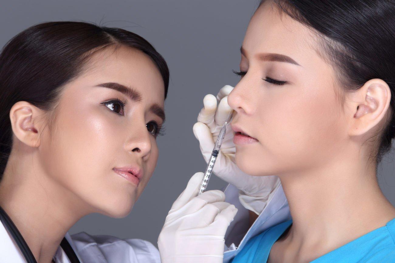 Nasenkorrektur ohne operativen Eingriff