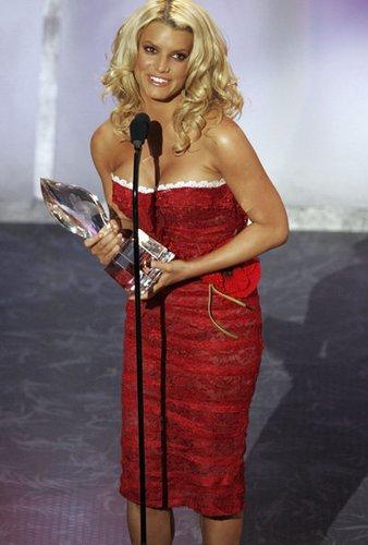 Jessica Simpson gewann einen Teen Choice Award