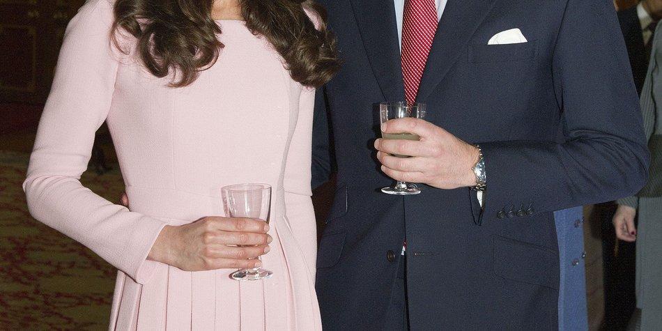 Kate Middleton und Prinz William: Details zur Taufe von Prinz George!