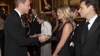 Prinz William: Kleiner Flirt mit Kate Moss?