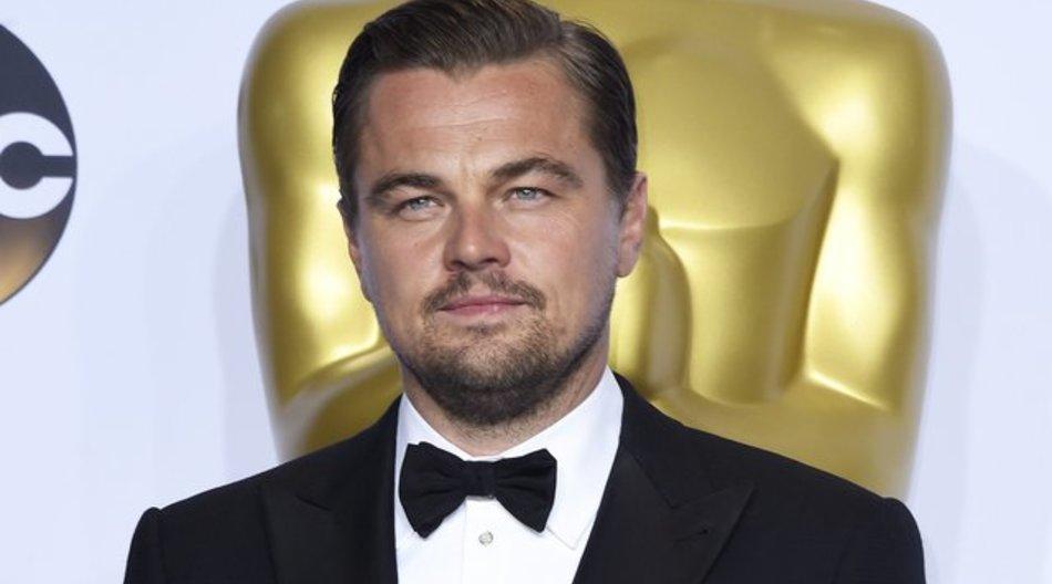 Mit Oscar: Leonardo DiCaprio in Hollywood.