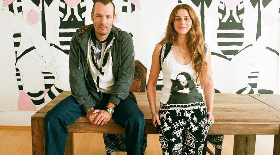 Feride Uslu und Jan Mihm