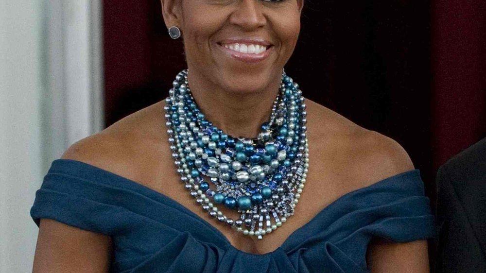 Michelle Obama wird emotional