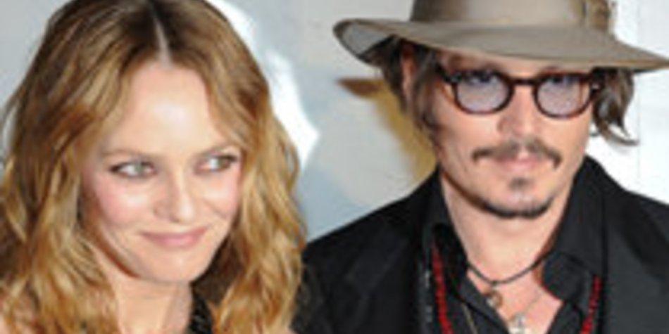 Johnny Depp: Keine Hochzeit mit Vanessa Paradis geplant