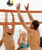 Beach Volleyball Spiel