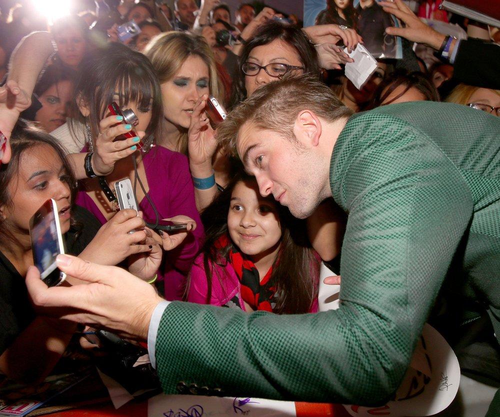 Robert Pattinson und sein Beuteschema