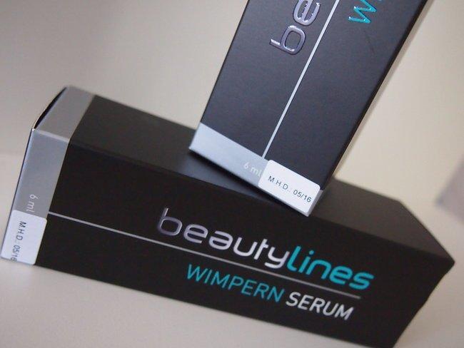 beautylines Wimpernserum im Redaktionstest