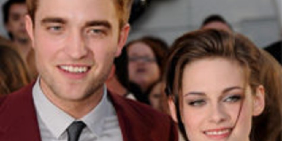 Robert Pattinson & Kristen Stewart: Liebe auf den ersten Blick!