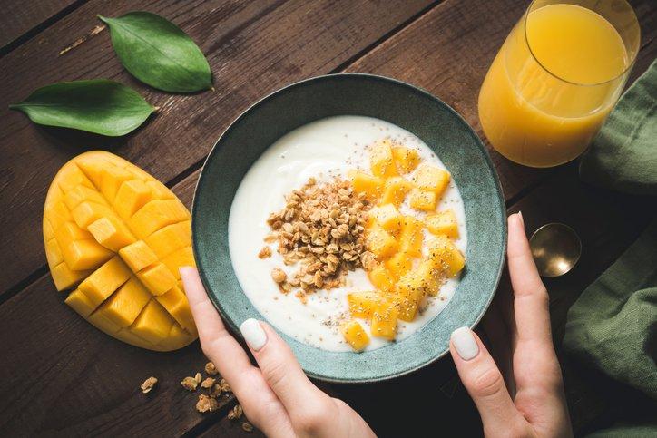 Mango kohlenhydrate