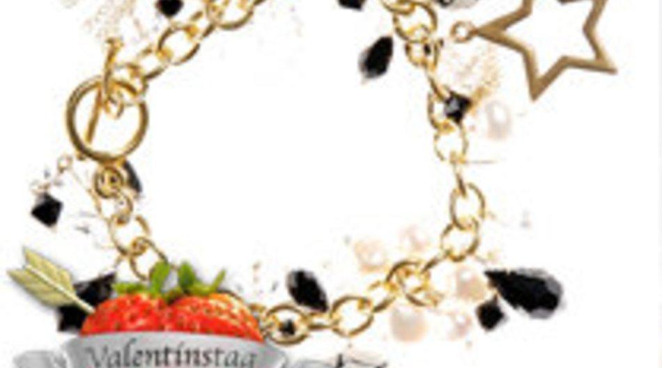 Glitzerndes Armband mit Swarovski-Steinen