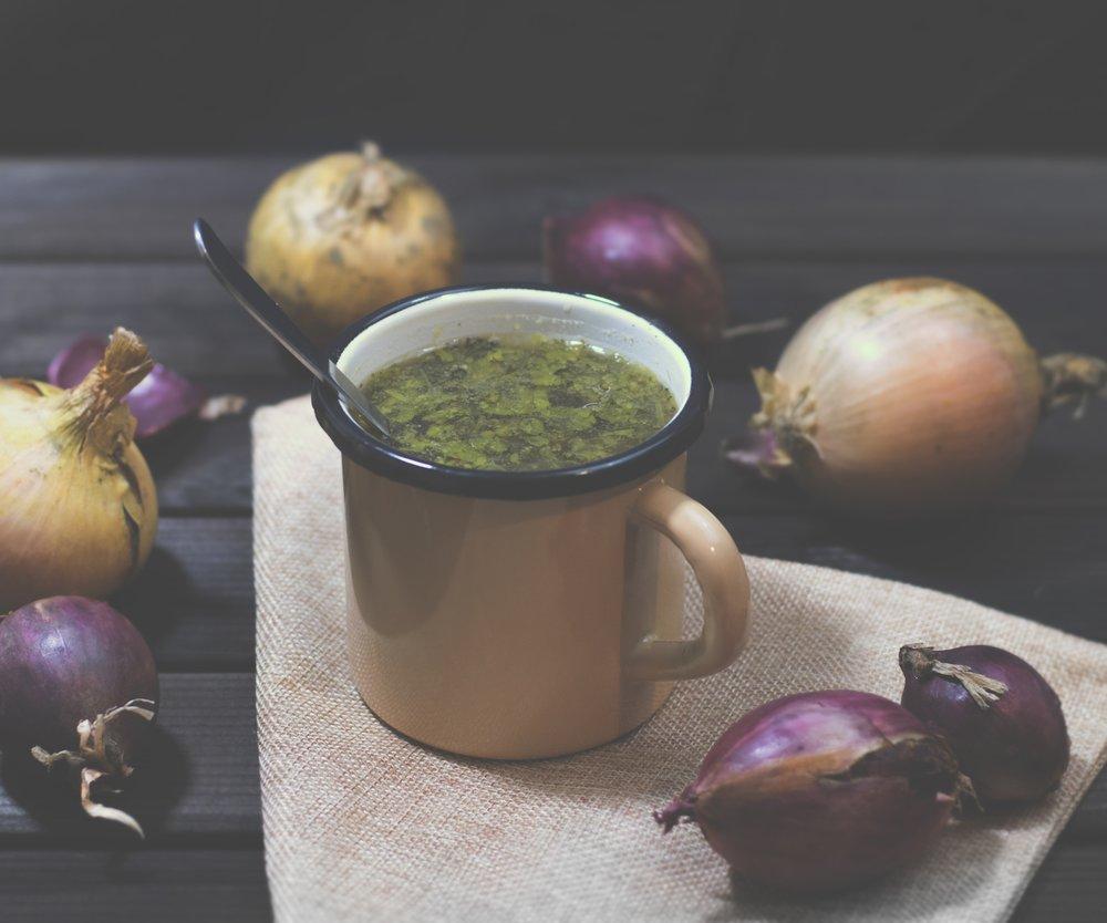 Gemüse-Tee