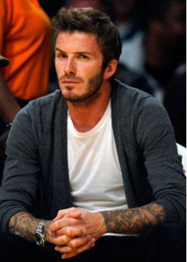 David Beckham schneidet fremde Haare