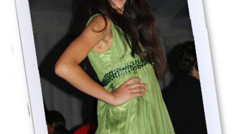 Rebecca Mir bei der Fashion Week New York