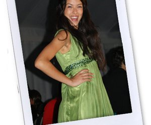 Rebecca Mir bei der Fashion Week New York