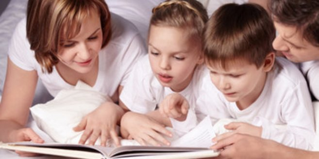 Kinder-Vorlesen positiv für Fortschritt
