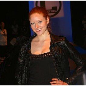 Barbara Meier auf der Fashion Week Berlin.