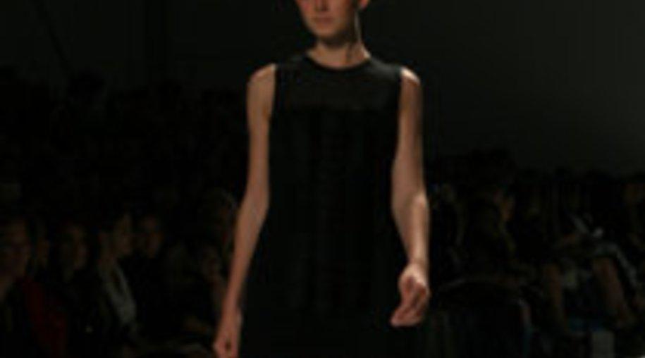 Gerade Schnitte auf der Fashion Week