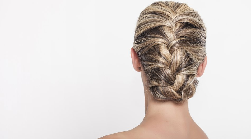 Beautiful braided hairdo