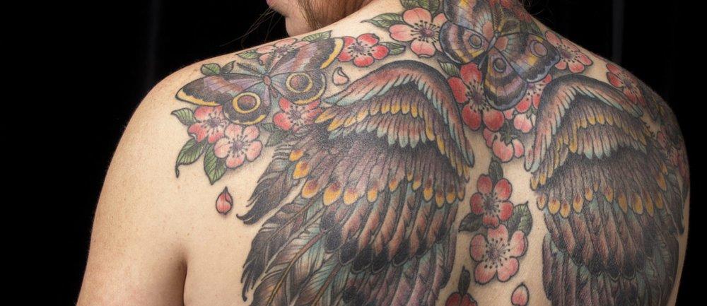 Kirschblüten-Tattoo