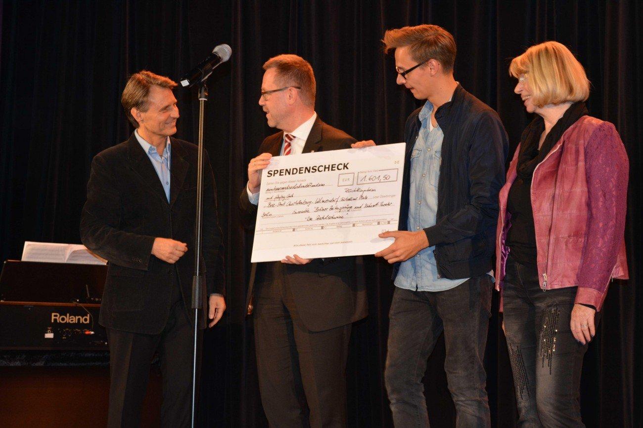 Wolfgang Bahro auf der Bühne