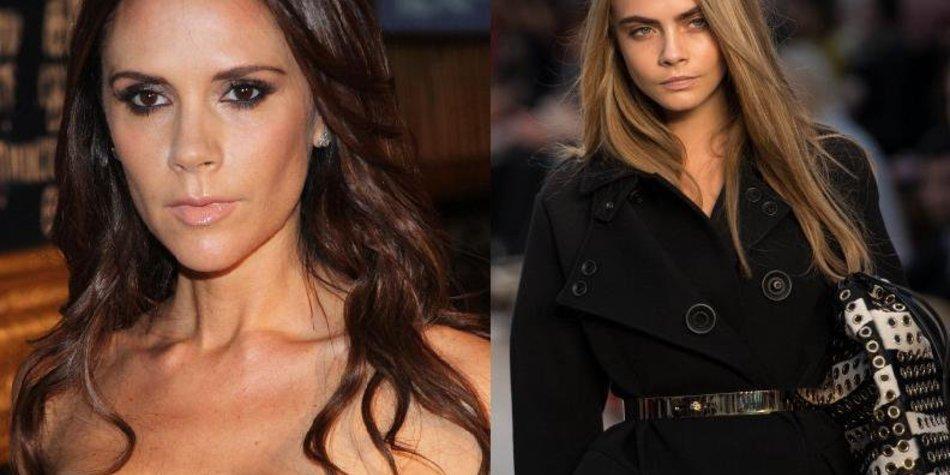 Cara Delevingne: Niemand mag Victoria Beckham