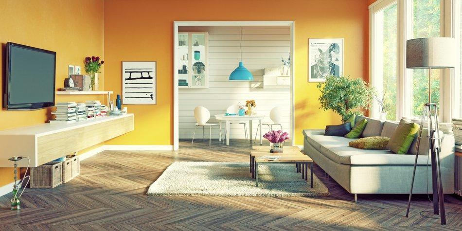 10 tipps für feng shui im wohnzimmer | erdbeerlounge.de, Wohnzimmer