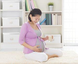 Gesunde Ernährung mit Milch in der Schwangerschaft