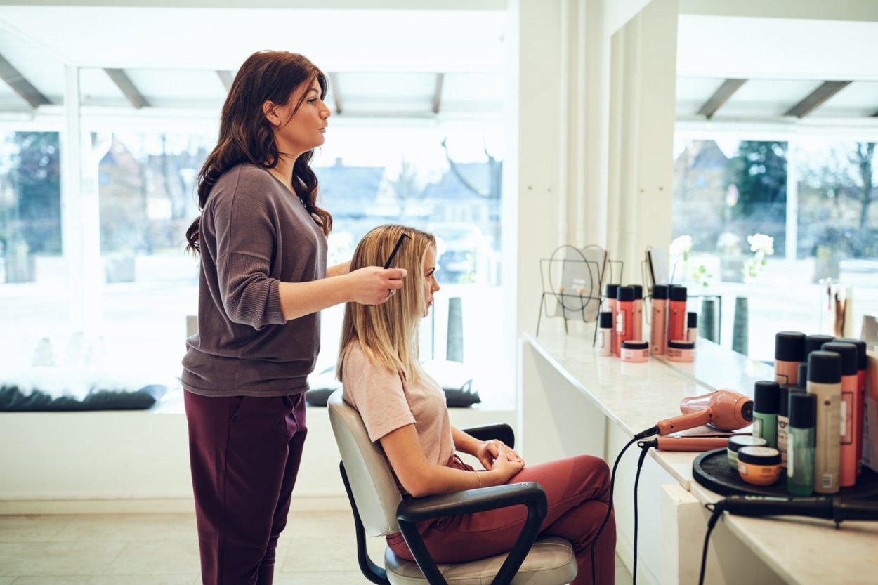 Friseur Salon Beratung