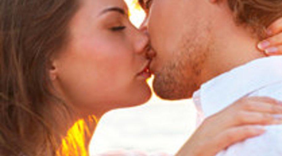 Der erste Kuss!