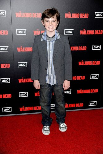 The Walking Dead-Darsteller Chandler Riggs.