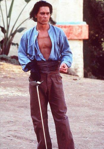 Johnny Depp in Don Juan