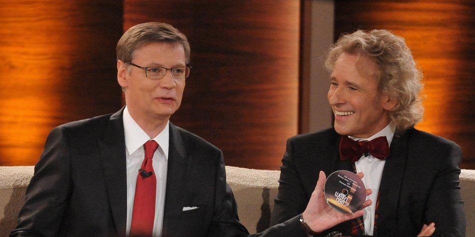Günther Jauch und Thomas Gottschalk: Bald in gemeinsamer TV-Show?