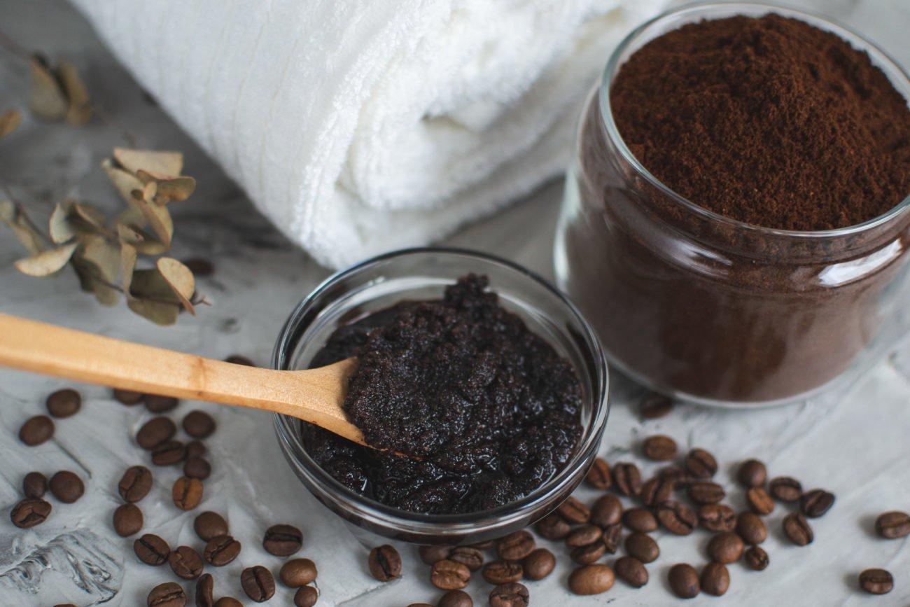 Kaffeesatz-Peeling