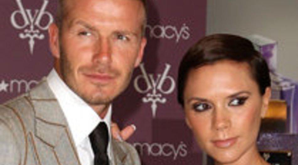 Wieder Krise bei den Beckhams