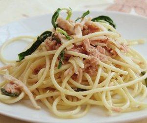 Spaghetti mit Thunfisch