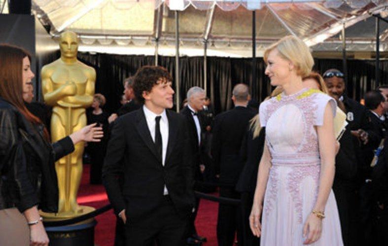 Oscars 2011: Jesse Eisenberg und Cate Blanchett